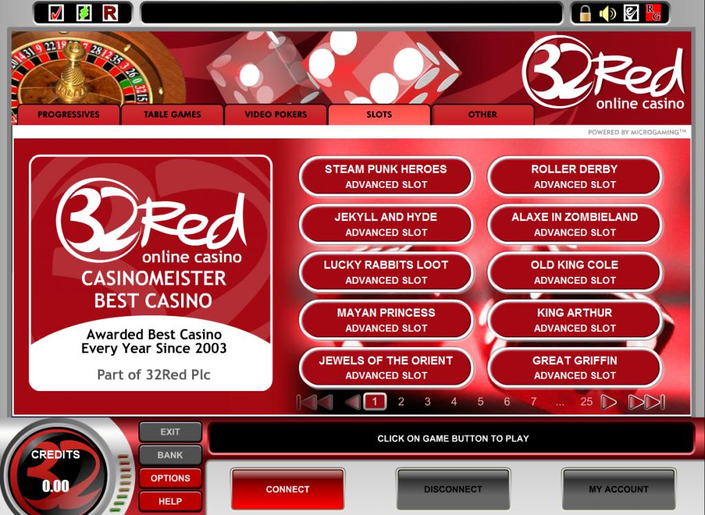 32 Red | Gambling Online Casinos
