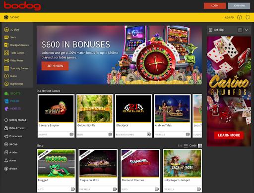 Bodog Bitcoin Casino Review | BitcoinCasino.org