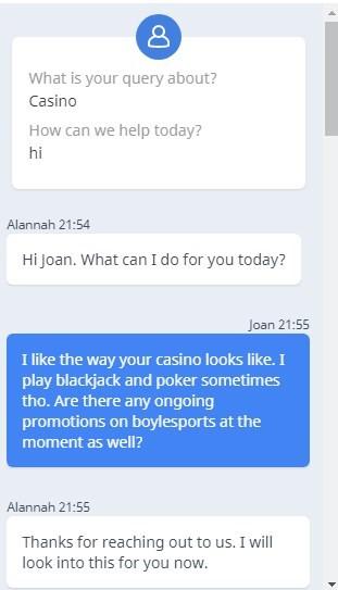 BoyleSports Support - Good AI or Bad Advisor? CasinoYell