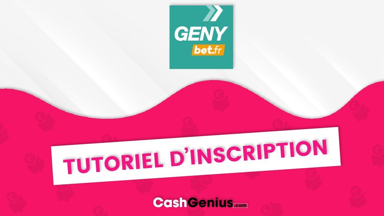 Comment s'inscrire sur Genybet ? - YouTube