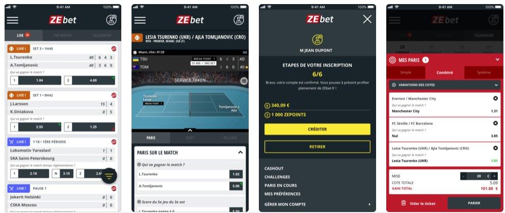 Comment télécharger l'appli mobile ZEbet sur iOS et Android ?