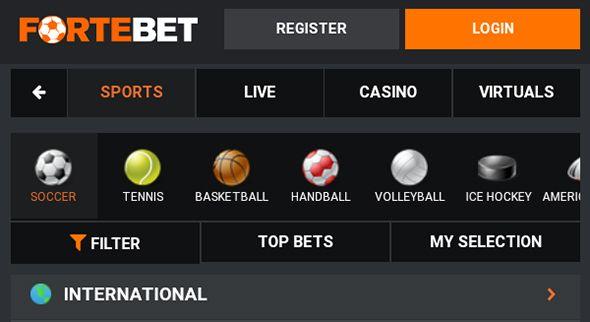 🥇Fortebet Uganda – Registration, Login & Bonus 2020 | Casino-Arena.ug