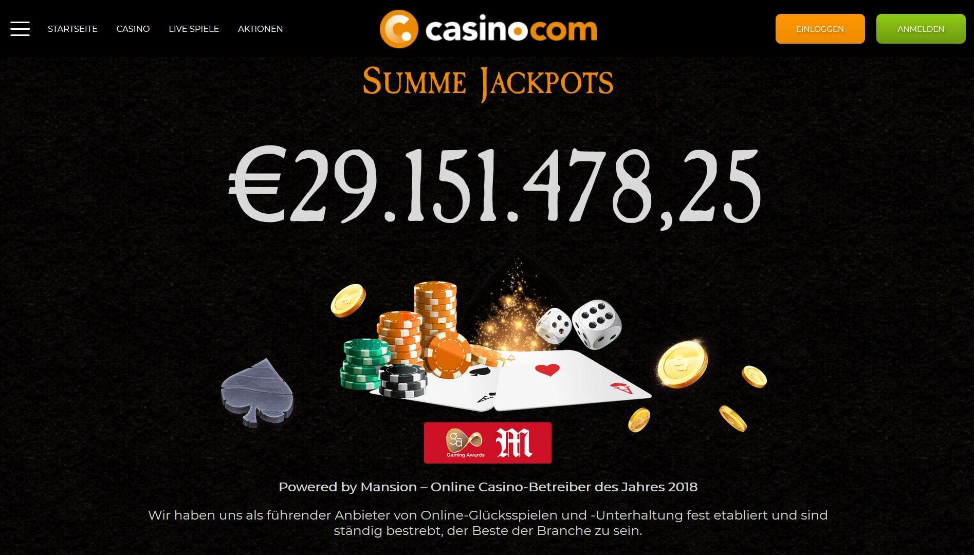 Hit the jackpot at Casino.com