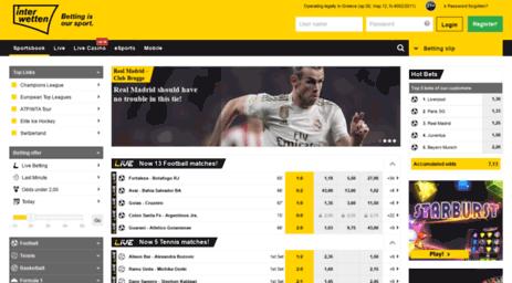 Interwetten Sports Betting, Live, Bonus, Casino and App - Trending ...