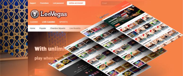 LeoVegas Review – Highrollers Casino