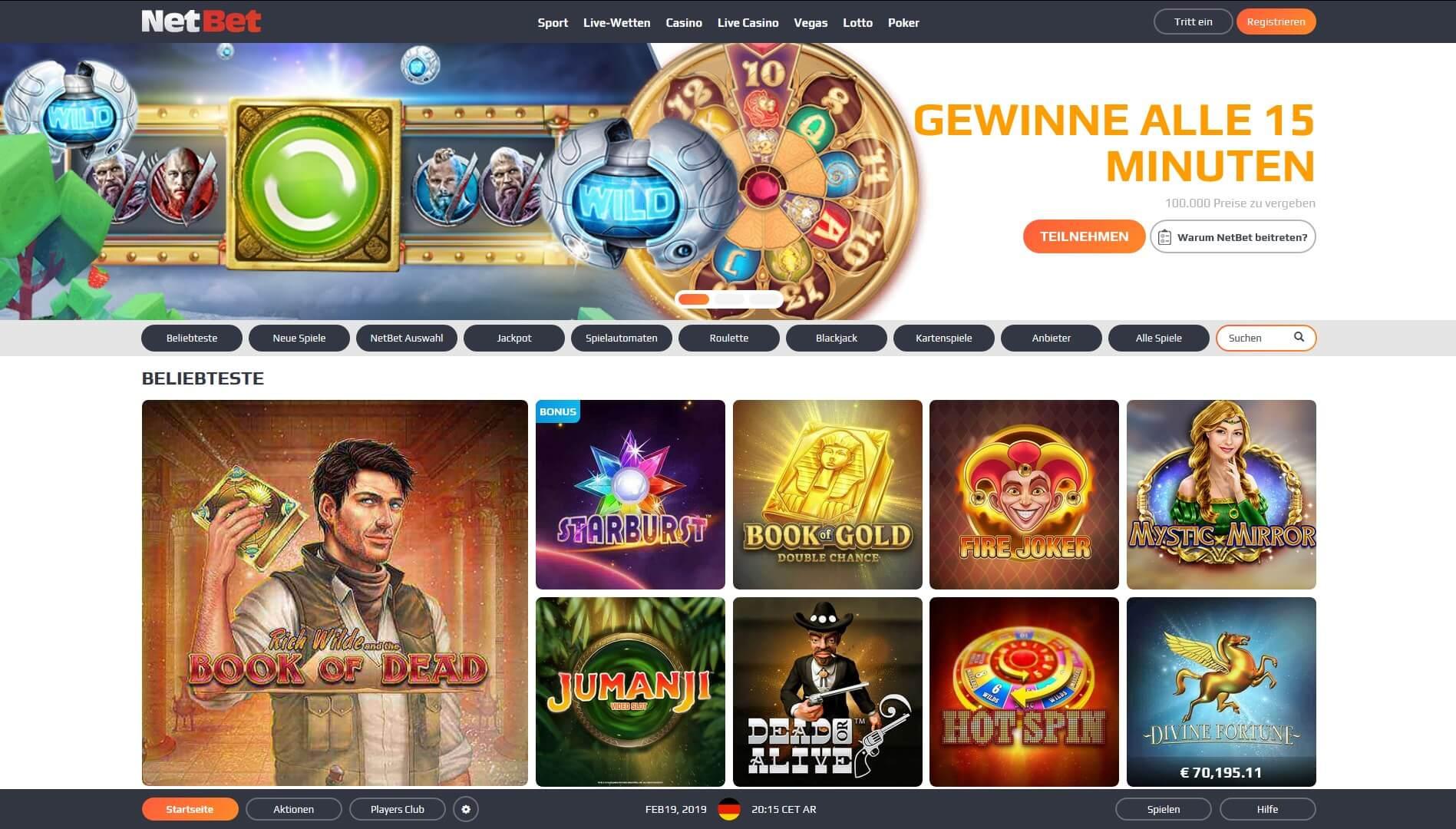 lllᐅ NetBet Casino Erfahrungen | Ehrliche Bewertung 2020