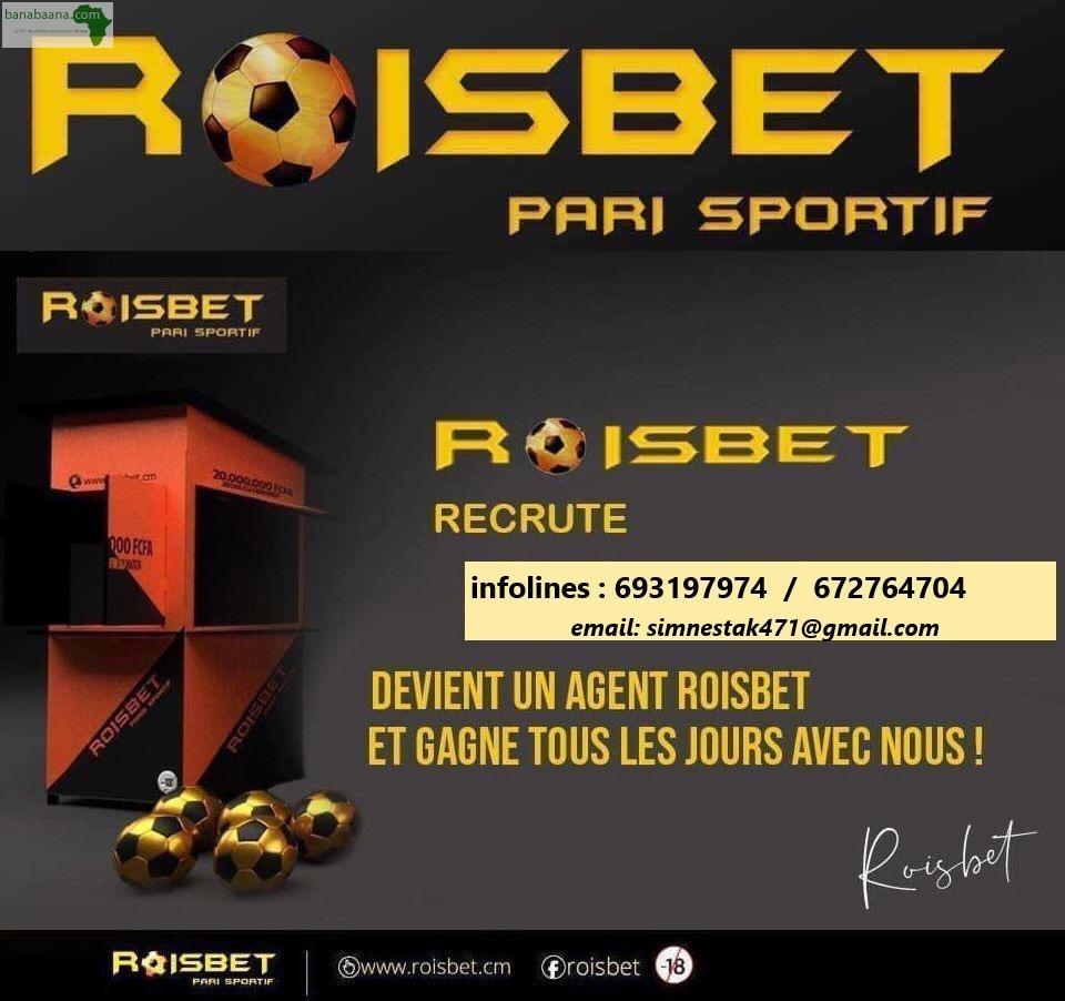 Offres Emploi ROISBET PARI SPORTIF RECRUTE Littoral - Banabaana