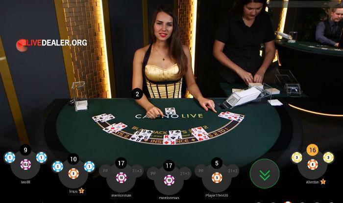 Paddy Power blackjack video | Livedealer.org