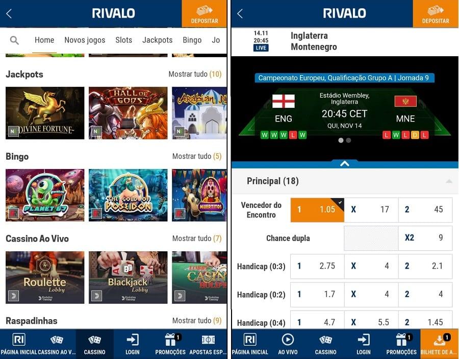 Rival App: Como baixar o aplicativo Android / iOS | APK Rivalo BR