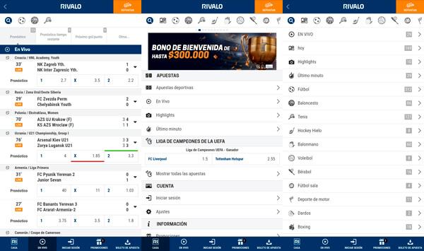 Rivalo App 📱 Descarga la App de Rivalo Apuestas Colombia