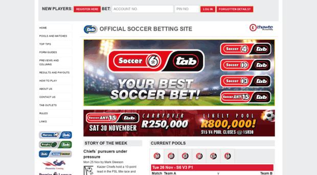 soccer6.co.za - Soccer6.co.za > Home - Soccer6