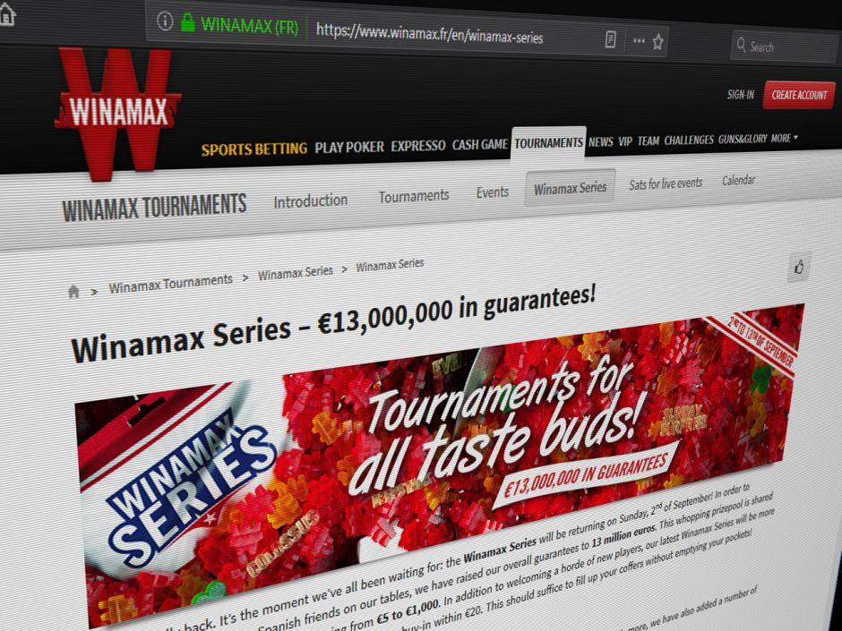 Winamax Series Returns with €13 Million Guaranteed