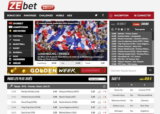 ZEbet paris sportifs 2017 | CasinoOnline.tf